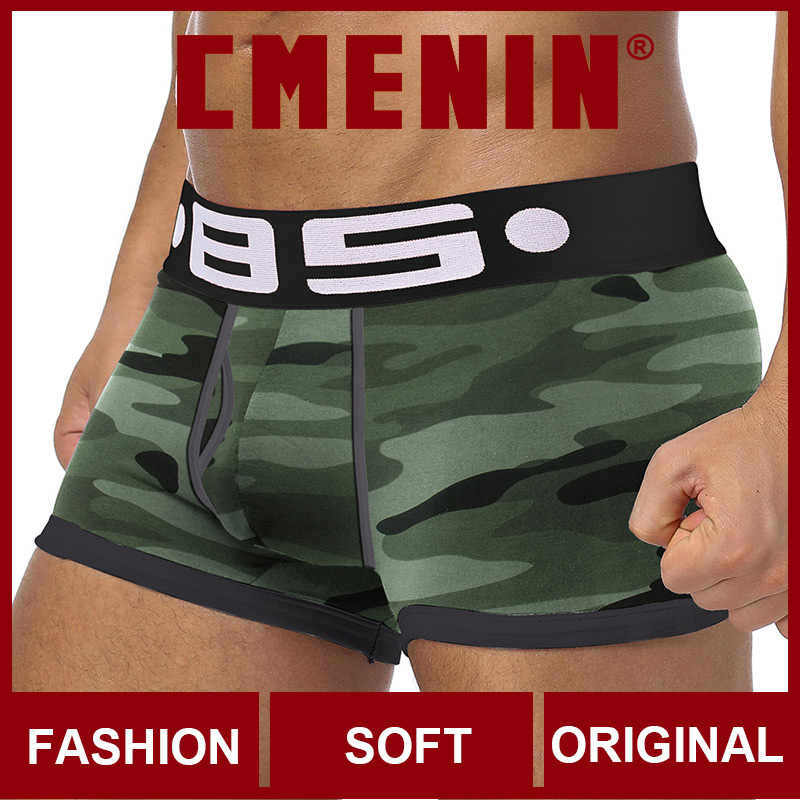 New Brand Comfortable Cotton Sexy Men Underwear Boxer Shorts Fashion Innerwear Mens Boxershorts Underware Boxers Cuecas
