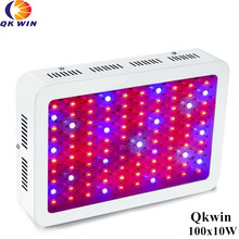 France warehouse dropshipping 600W/1000W LED Grow Light 100x10W Full Spectrum 410-730nm For Indoor plants' grow and Flowe france shipping qkwin 1000w led grow light 100x10w with double chip 10w full spectrum led grow light for indoor plants