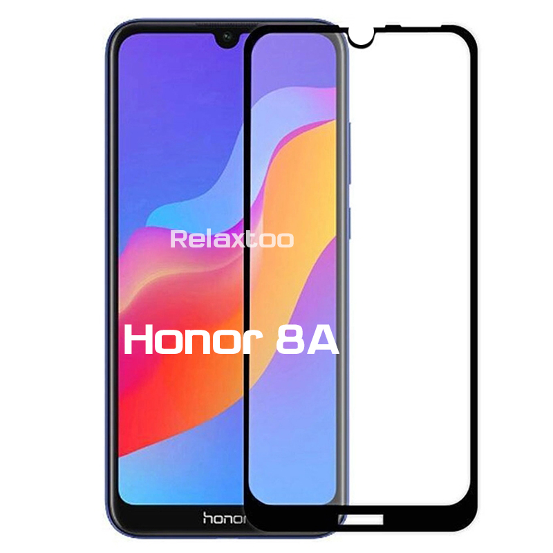 Honor8A Screen Protector <font><b>Tempered</b></font> <font><b>Glass</b></font> For Huawei <font><b>Honor</b></font> <font><b>8</b></font> A 8A / 8A <font><b>Pro</b></font> Global Version JAT-L41 JAT-LX1 6.09'' Safety Armor Film image