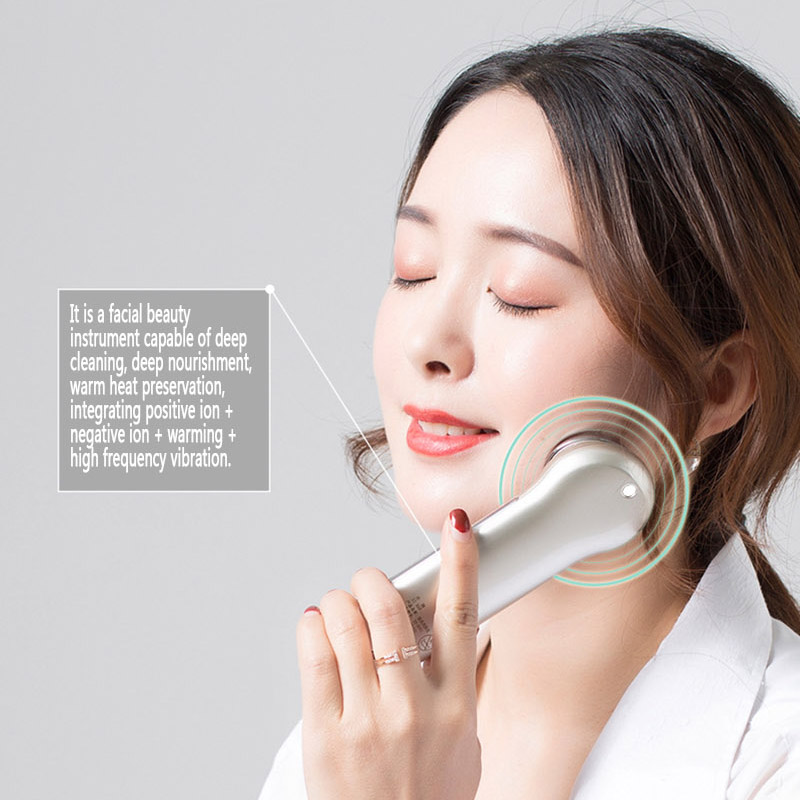 Essence iontophoresis beauty instrument facial cleansing massage for face export pore cleaner skin care tools Warm introduction