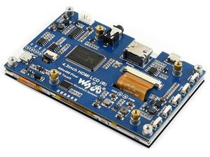 Image 4 - 4.3 cala, 800x480, pojemnościowy ekran dotykowy, interfejs HDMI, obsługuje wiele mini komputerów/wielu systemów, IPS , 4.3 cala HDMI LCD (B)