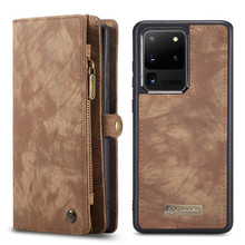 Leather Wallet Phone Case for Samsung Galaxy S20 Ultra S10 S9 S8 S7 Edge Note 20 10 Plus A21S A51 A71 A20 A30 A40 A50 A70 Cover