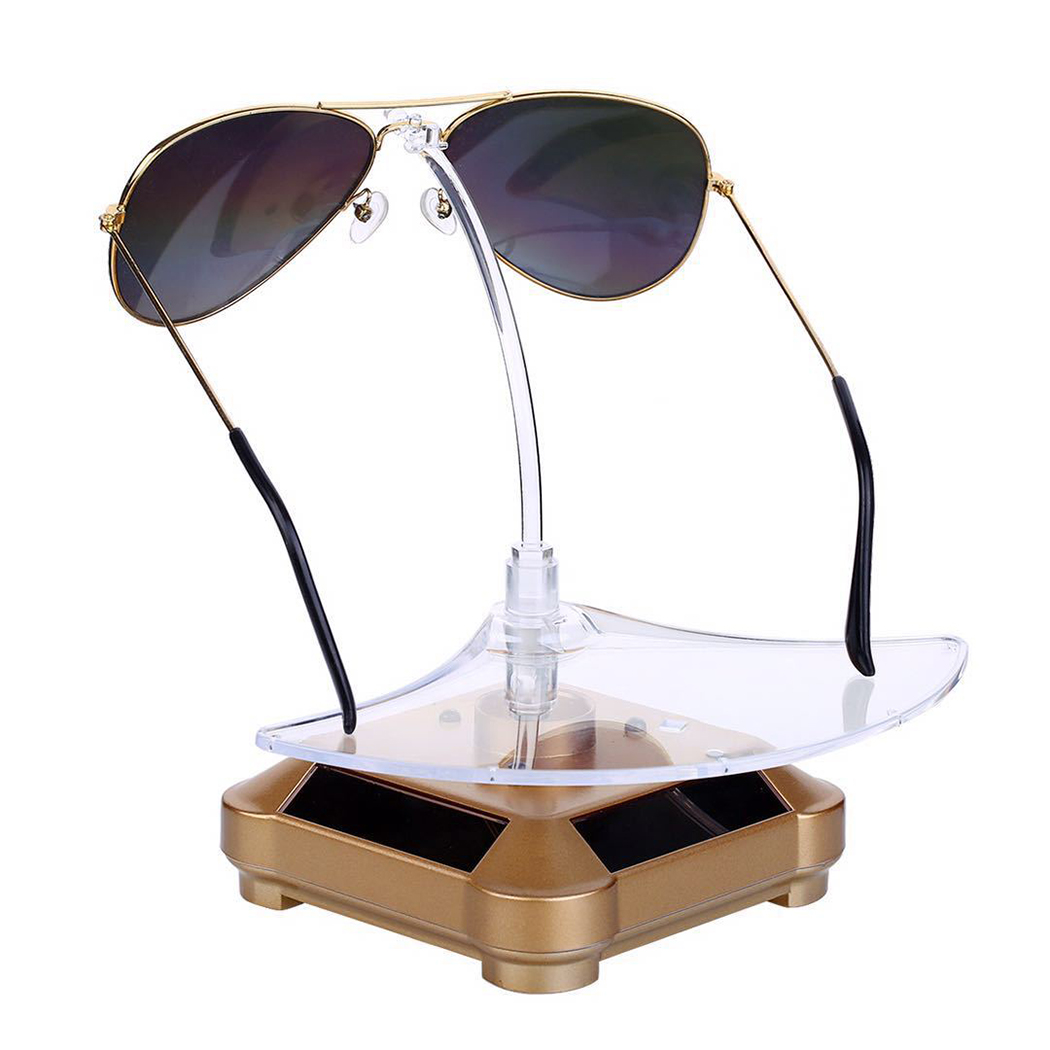Glasses Display Stand Set Creative Rotary Sunglasses Organizer Glasses Stand Window Display Sunglasses Storage