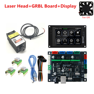 GRBL 1.1 CNC laser module MKS DLC v2.0 MKS TFT 35 CNC touch screen display for CNC DIY Engraving Machine Wood Router Engraver