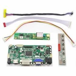 Latumab nowy NT68676 HDMI + DVI + VGA ekran LCD zestaw płyty kontrolera dla LP150X08 TLA2 płyta kontrolera LCD sterownik w Ekrany LCD i panele do tabletów od Komputer i biuro na