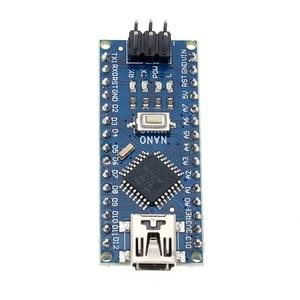 Image 2 - 50PCS Nano 3.0 controller compatible with  nano CH340 USB driver NO CABLE NANO V3.0
