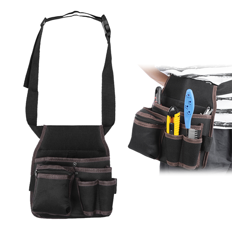Multi-function Tool Bag Belt Waist Bag Pouch Waist Pocket Outdoor Work Hand Tools Hardware Storage Electrician Tool