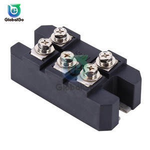 MDS150A 3-Phase Diode Bridge Rectifier 150A Amp 1600V Copper 150 Celsius 80x40x33mm Metal Case Diode Bridge Control