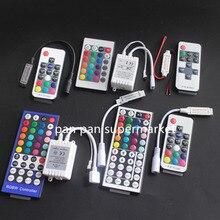 Led-Strip-Light Controler Wif Remote Mini 5050 DC12V Key IR for 3528 RGB Led Rgb 17/24/40/44