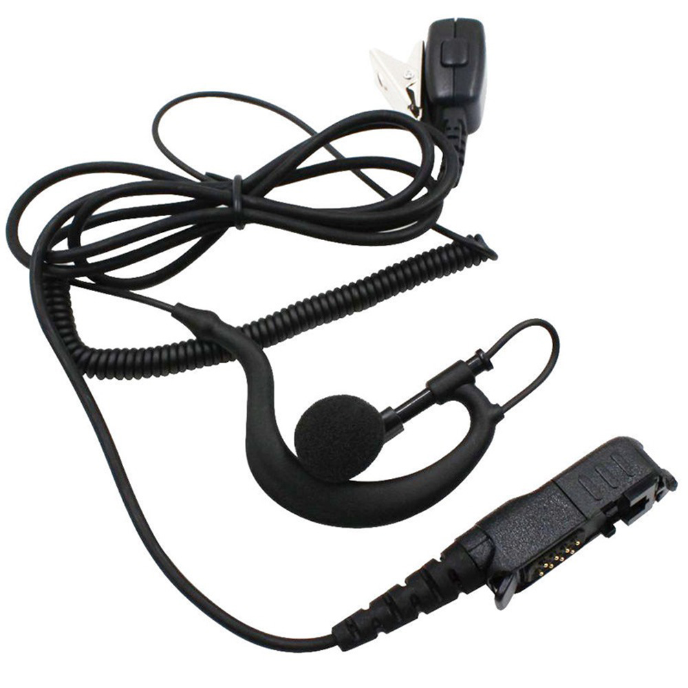 Telescopic Cord Ear Hook Earpiece Walkie Talkie Ear Hook Headset Earpiece For Motorola Xir P6600 P6620 XPR3300