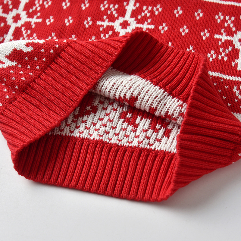 Christmas Baby Boys Girls Sweaters Winter 19 Toddler Baby Clothes With Deer Kids Christmas Sweater Embroidery Pull Fille Tops 12