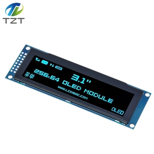 """Image 4 - TZT Real OLED Display  3.12"""" 256*64 25664 Dots Graphic LCD Module Display Screen LCM Screen SSD1322 Controller Support SPI"""