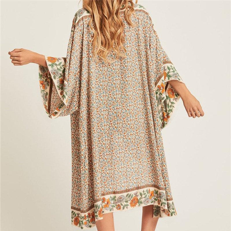 Beach Wear Printed Kimono 5