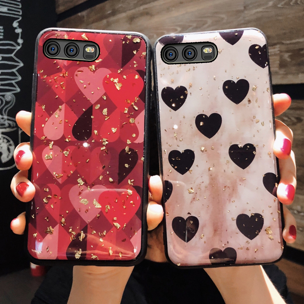 YueTuo glitter soft phone <font><b>battery</b></font> back etui,coque,cover,case for <font><b>huawei</b></font> p10 lite plus p 10 <font><b>p10lite</b></font> p10plus silicone accessories image