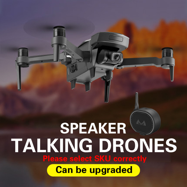 Dron 4K GPS drone WiFi fpv Quadcopter brushless motor camera intelligent return drone with camera TOYS