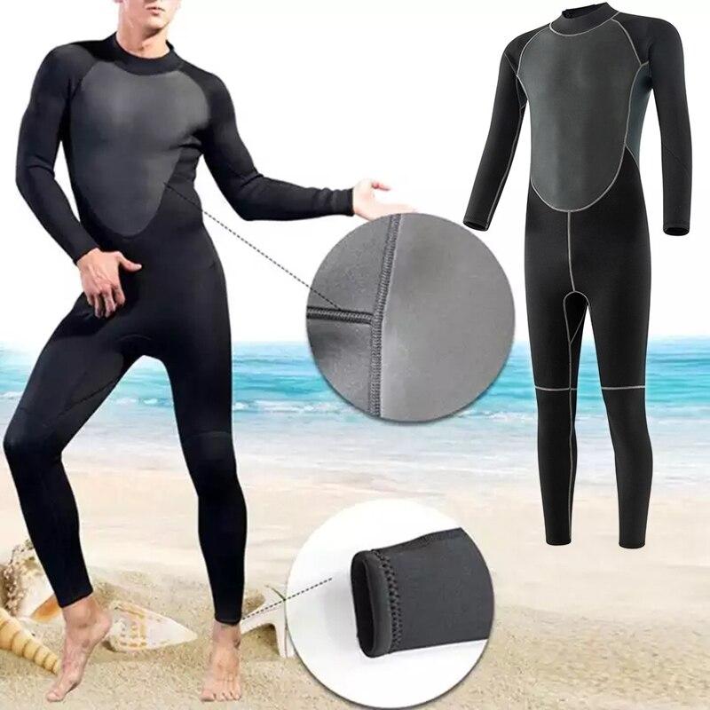 Hot Selling Men's Swimming Suits Full Bodysuit Super Elasticity Diving Suit for Swim Surfing Snorkeling For Summer