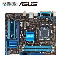Asus P5G41T-M LX настольная материнская плата G41 розетка LGA 775 для Core 2 Duo DDR3 8G SATA2 VGA uATX оригинальная б/у материнская плата