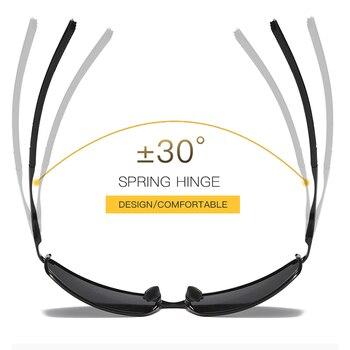 AORON Men's Polaroid Sunglasses Men Goggles Luxury Design Aluminum Magnesium Frame Sun Glasses Vintage Oculos de sol 6