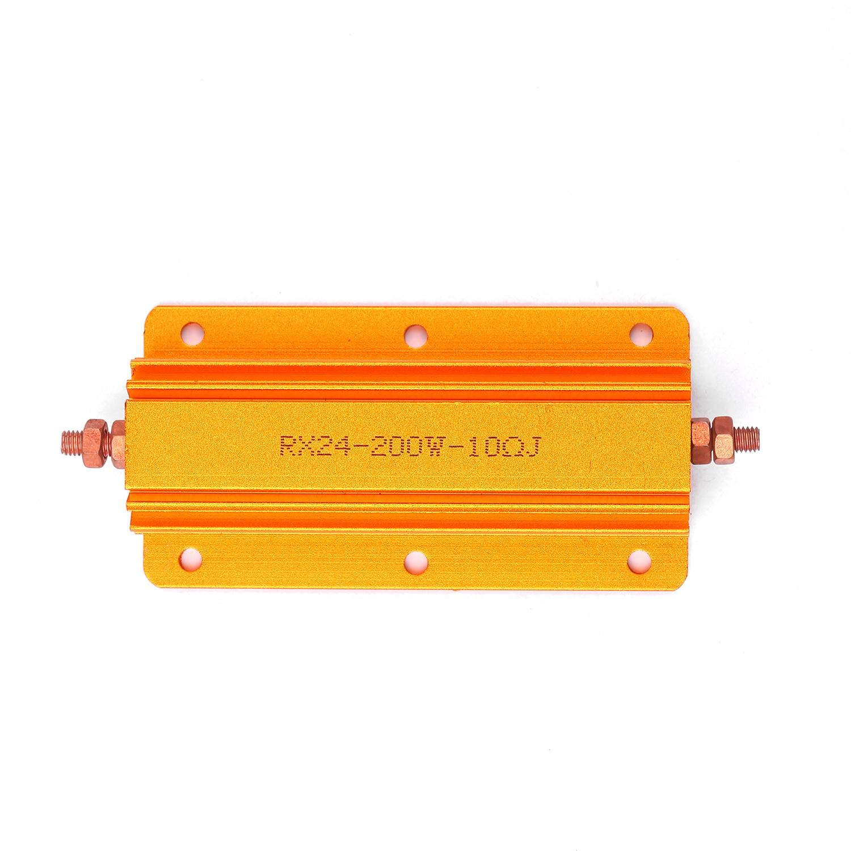 US Stock 2.2K ohm 2.2K 200W Watt Aluminum Housed Metal Case Wirewound Resistors