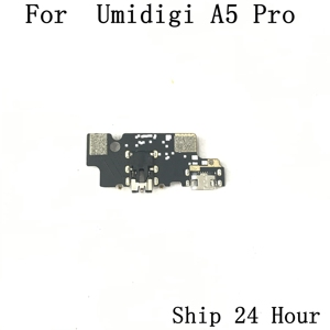 Image 2 - Placa de carga USB Original Umidigi A5 Pro + conector de auriculares para reparación Umidigi A5 Pro pieza de sustitución envío gratis