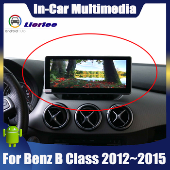 Android System display For Mercedes Benz B Class W246 2012~2015 touch screen GPS Navigation stereo radio Car multimedia player