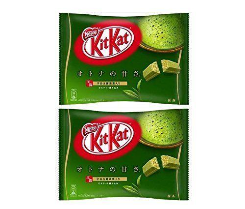 Nestle Nestl? Kit Kat Matcha Kitkat Matcha (té Verde) 12 Hojas X2 Bolsa Set
