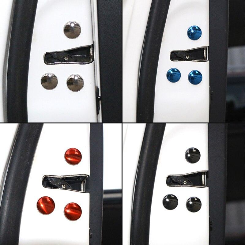 12 ชิ้น/เซ็ต Anti-Rust สกรูสกรูประตูป้องกันฝาครอบสำหรับ Toyota C-HR Avensis AURIS HILUX รถอุปกรณ์เสริม