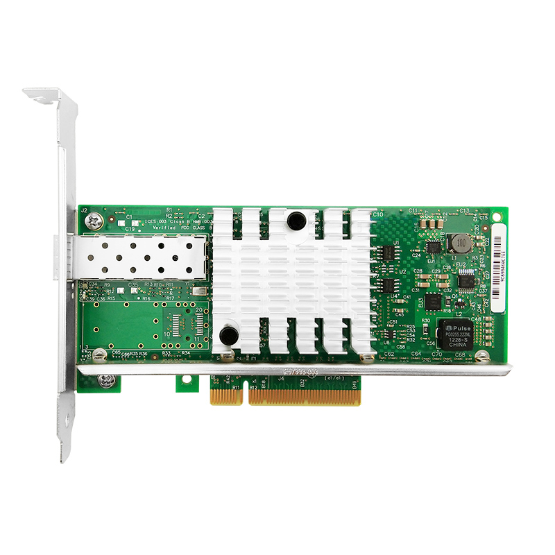 X520-DA1 PCI-E Ethernet Converged Network Card SFP+ 10G PCIe 2.0 X8 Server Adapter With Intel 82599en Chip