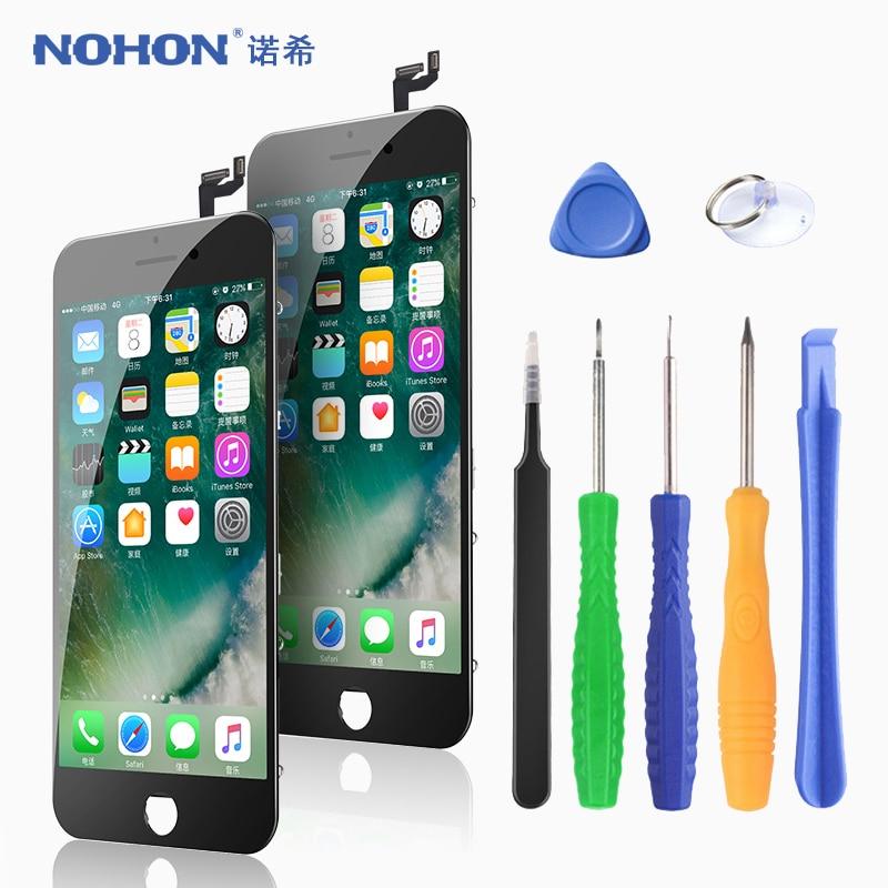 ЖК-дисплей NOHON для iPhone X 7 6 6S 8 Plus, дисплей pantalla с сенсорным 3D дигитайзером в сборе, сменные ЖК-дисплеи для телефонов AAAA ++