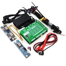 Ноутбук ТВ/ЖК/светодиодный набор инструментов для тестирования светодиодный панель тестер er поддержка 7-84 дюймов LVDS интерфейс 14/линия экрана+ плата высокого давления+ адаптер