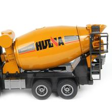 1/14 scale 10 channel rc car Huina 1574 remote control concrete mixer construction model truck