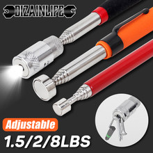 Mini Portable Telescopic Magnetic Magnet Pen Pick Up Tool Extendable Pickup Rod Stick Handy Tool for Picking Up Screws Nut Bolt