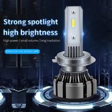 2x Car LED Headlight Fog Light H11 9006 HB4 9005 HB3 H4 H7 H1 For Nissan Qashqai J11 J10 Juke X Trail T32 T31 Primera P12