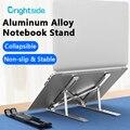 Регулируемая подставка для ноутбука, складной держатель для ноутбука Macbook Pro, охлаждающая подставка