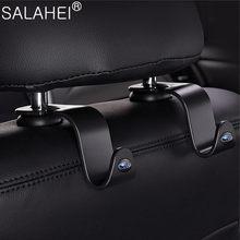 Assento de carro encosto de cabeça gancho multi-função para assento de volta gancho saco gancho escondido para subaru xv legado forester impreza sti wrx estilo