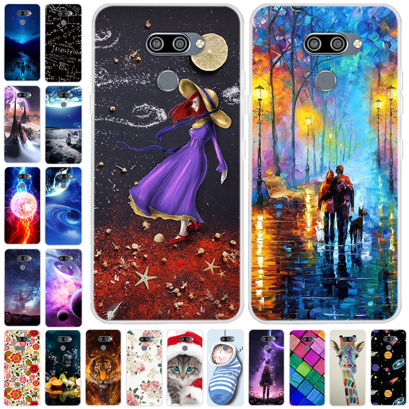 6.5'' For LG K50S Case Silicone Soft TPU Back Cover For LG K40S Case 6.1'' Phone Cases For LG K50S Thinq LGK40S K40 K50 Coque