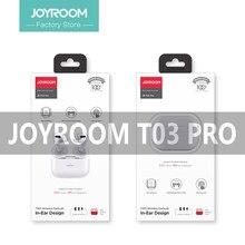 Yeni Joyroom T03 Pro TWS kablosuz kulaklık Bluetooth 5.0 kulak gürültü azaltma kulaklık kablosuz şarj Pop-ups kulakiçi