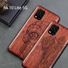2020 ใหม่สำหรับ Xiaomi Mi 10 Lite 5G กรณี Slim กลับปกคลุม TPU กันชนกรณี Xiaomi Mi 10 Lite Mi 10 เยาวชนโทรศัพท์กรณี