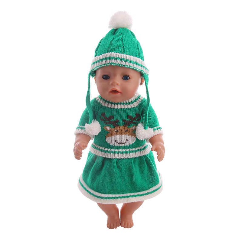 الشتاء موضة مقنع البلوزات ل 18 بوصة الأمريكية 43 سنتيمتر ملابس دمى اكسسوارات ، فتاة اللعب و هدايا عيد الميلاد