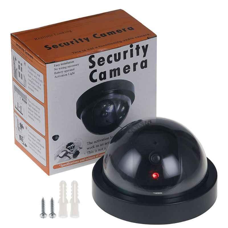 Fałszywe kamery bezprzewodowy analogowy wideo nadzoru kryty/na zewnątrz wirtualnych kopuła kamery
