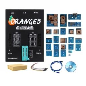 Image 5 - Orange 5 Full Adapters OEM Programming Device Software V1.34 Hardware + Enhanced Function Orange5 PLus V1.35 With USB Dongle