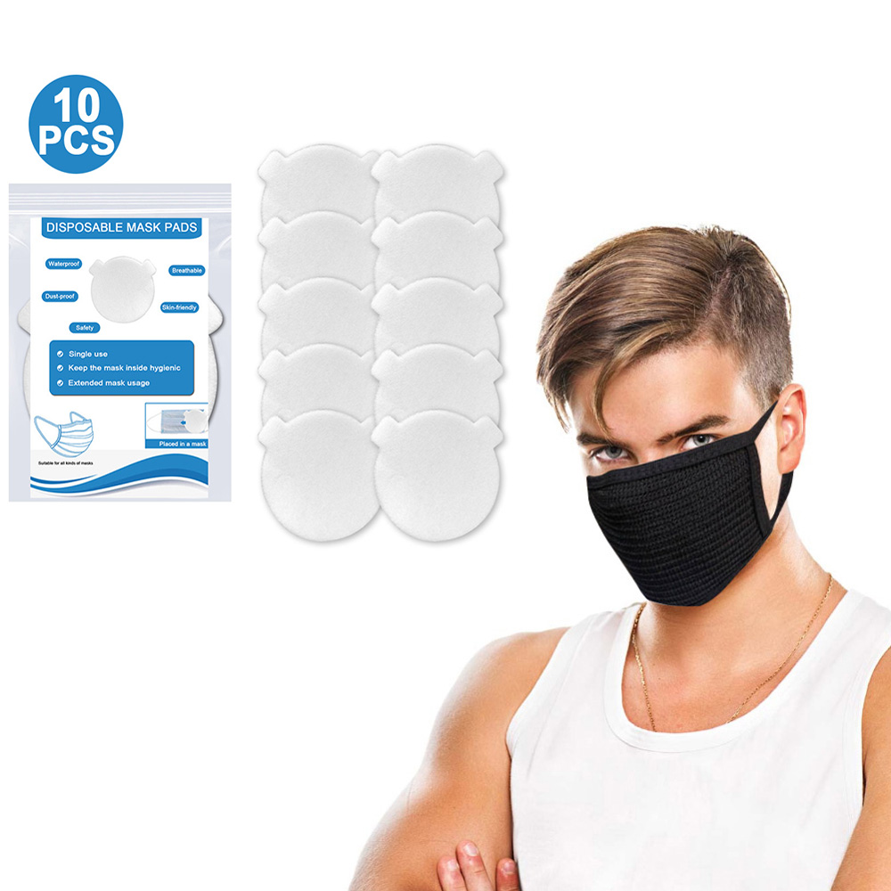 10pcs Mask Filters ,Activated Carbon Dustproof Mask, Face Mask Anti Pollen Allergy PM2.5 Dust Mask KN95 Mask