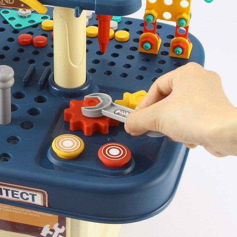 conjunto para criancas martelo de perfuracao educativo brinquedos inteligencia 05