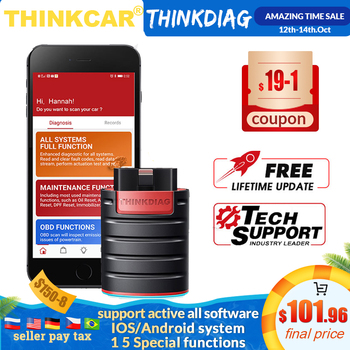 NEW THINKCAR Thinkdiag same as easydiag 3.0 X431 Bluetooth adapter update online full system OBD2 Scanner Diagnostic Tool thinkcar thinkdiag auto obd2 scanner code reader full system obdii scanner automotive obd2 diagnostic tool 15 reset services