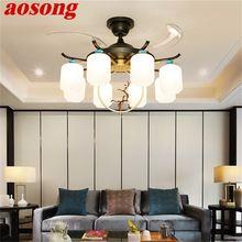Потолочный светильник aosong с дистанционным управлением креативное