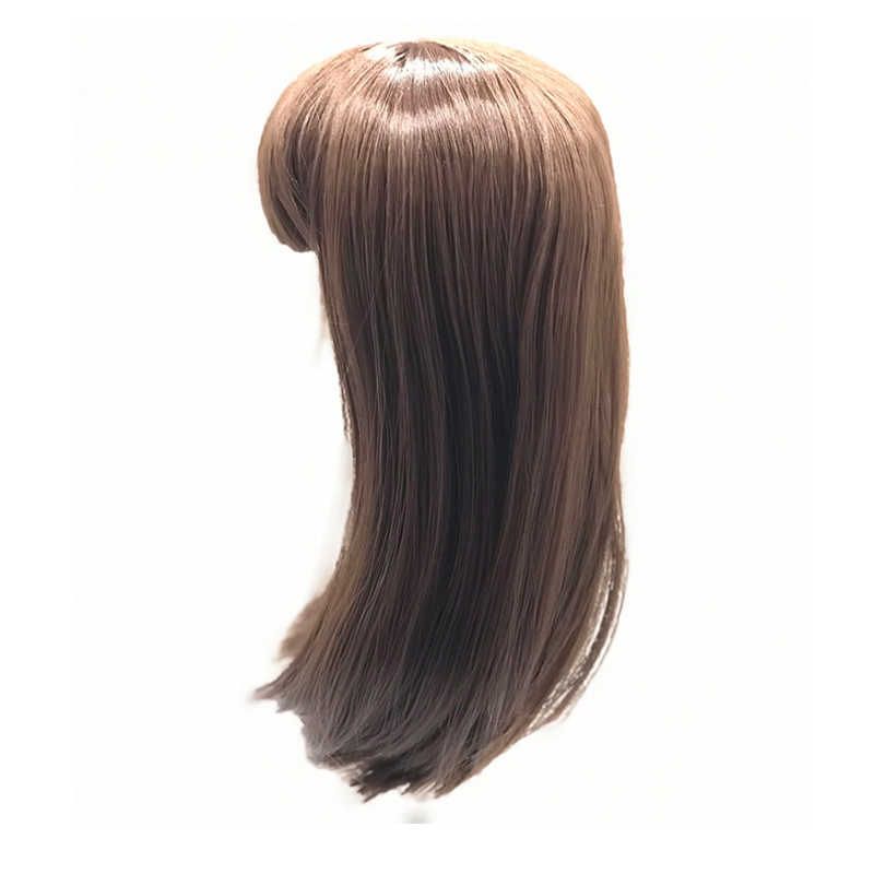 NPK Menempel Rambut Wig untuk 50-58 Cm Reborn Balita Boneka 20-23 Inch Silikon Reborn Boneka Bayi boneka Rambut Wig Boneka DIY Aksesori