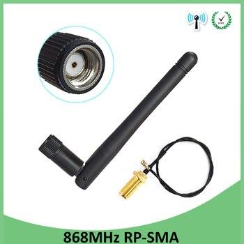 цена на 5pcs antenna antena cellular booster car para modem hf telephone longo alcance cellular signal router lte gsm 868mhz lora