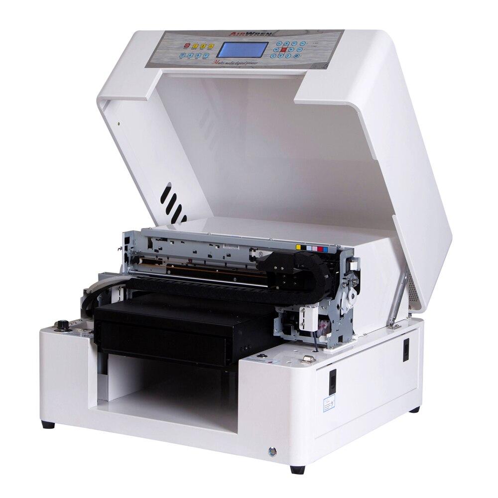 Automatic A3 Flatbed Uv Printer Uv Inkjet Print Machines For Ballpoint Pen,golf Ball,phone Case Etc