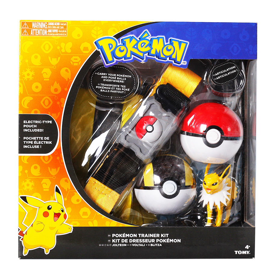 Pokemones Ball figure With Belt and Pop-up Action Figure Model Toys Retractable Belt Gifts Kids Toys in box 3