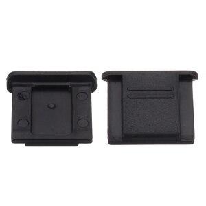 Image 5 - Mayitr couvercle de chaussure chaude noir, pour Canon, avec couvercle de chaussure chaude pour appareil photo, Panasonic, Pentax, 10 pièces